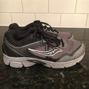 Saucony Sneakers Black/Gray Size 4